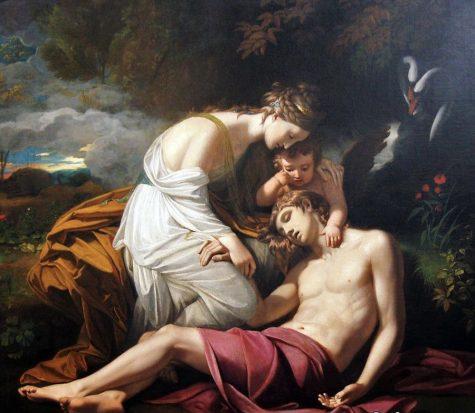 Aphrodite and Adonis. Photo courtesy of pinterest.com.
